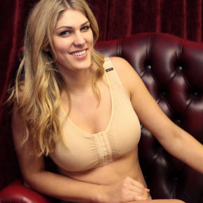 The new post-surgery Hospital Bra