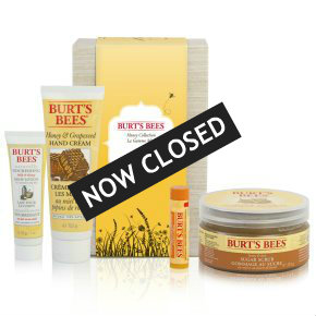 Burt's Bees Honey Collection beauty kit
