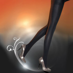 Pretty Polly Fleecy Opaque Tights, £10