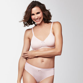 Lara Dots bra and brief from Amoena