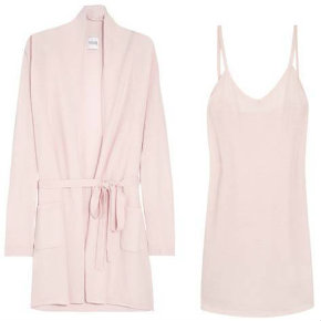 Madeleine Thompson loungewear for Net-a-Porter