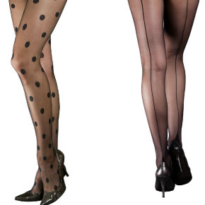Pamela Mann Moulin Rouge tights collection