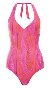 New swimwear: Ted Baker swimsuit