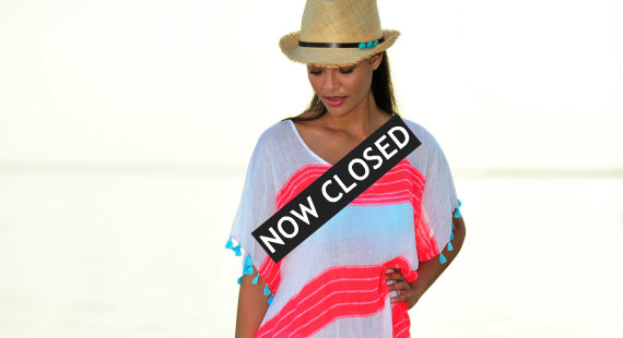 Win a Seafolly kaftan from Cocobay.co.uk