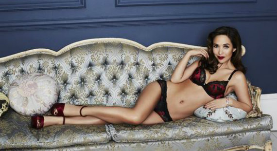 Myleene Klass lingerie for Littlewoods