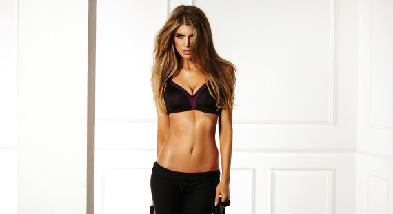 New Gossard sports bra in black
