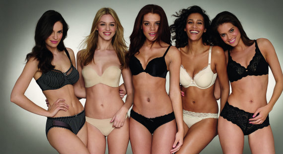 Debenhams UK bra size survey