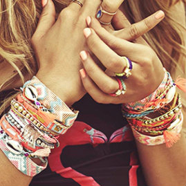 Hipanema bracelets from Cocobay