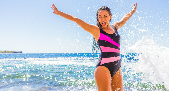 Win a sporty new swimsuit from Zoggs
