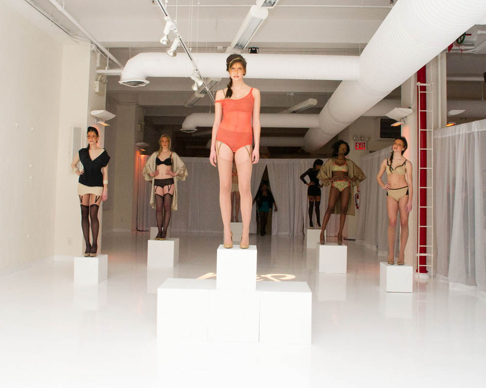 NaïS Lingerie at Lingerie Fashion Week AW13