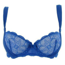 Marilyn half cup in electric blue