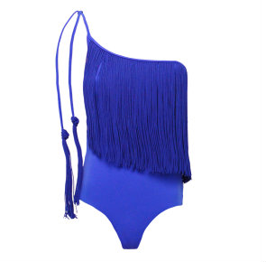 Seafolly fringed swimsuit