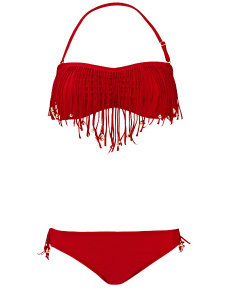 South Beach fringed bikini