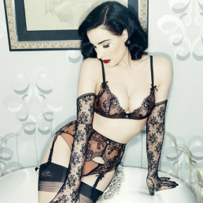 Savoir Faire lingerie set, Von Follies by Dita Von Teese