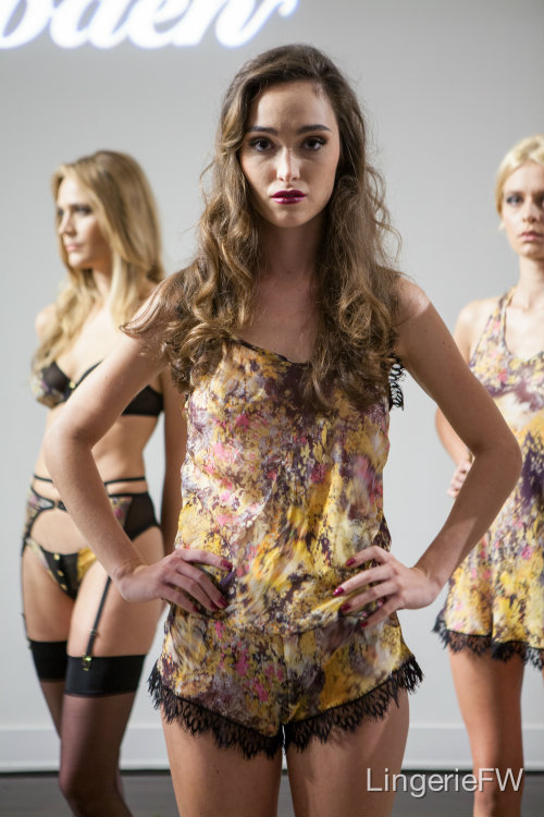Nevaeh Intimates at LingerieFW SS14 - Stephen Wilson Photography