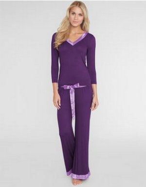 Figleaves, Camelia Soft Touch Longer Length Pj Set