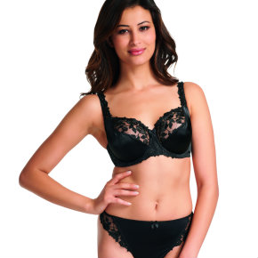 Fantasie Belle balcony bra in black