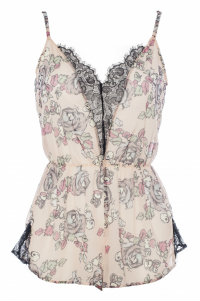 Dentelle etc Rose playsuit