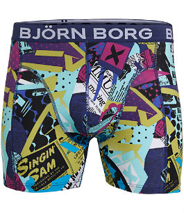 Bjorn Borg newspaper pants