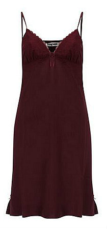 Lepel Georgina Satin chemise slip dress