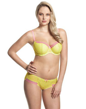 Darcy in yellow from Cleo by Panache