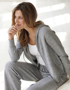 Pure Collection cashmere hoody