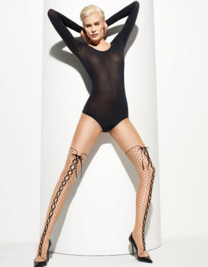 Win a pair of Bootlace tights from Wolford