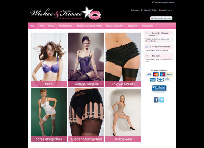 Wishes and Kisses Lingerie