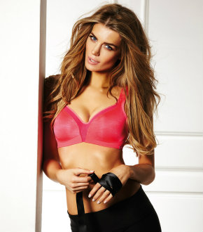 New Gossard sports bra in pink