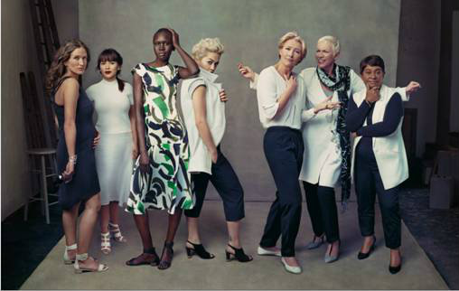 M&S Leading Ladies SS14