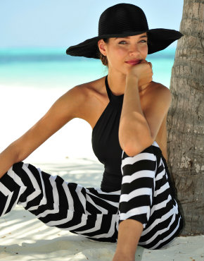 Seafolly Club Mod monochrome