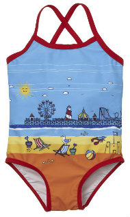 Mothercare Little Bird by Jools Seaside swimsuit