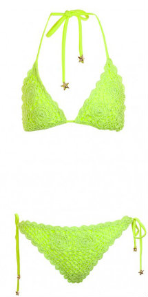 South Beach Polly crochet bikini