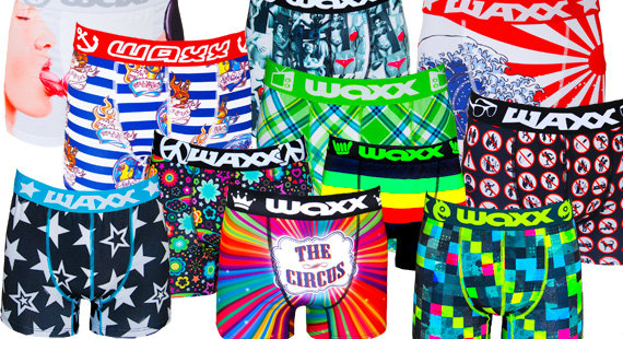 Win a £30 gift voucher for Waxx Underwear
