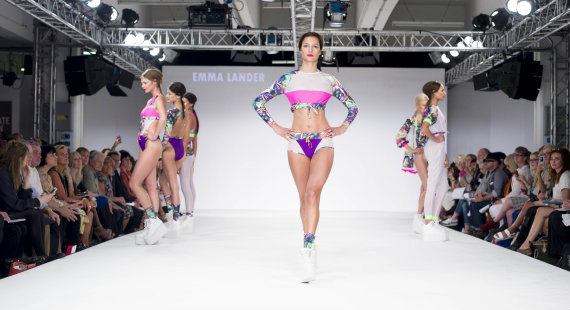 DMU Contour Fashion Catwalk 2014