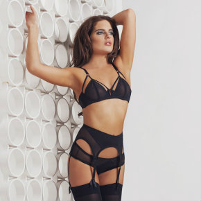 Binky Felstead as the face of Bluebella
