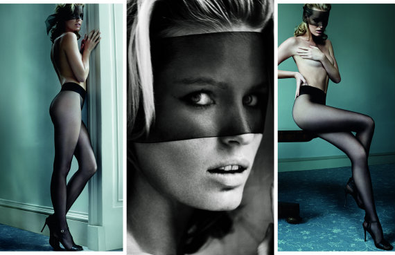 Mario Testino shoots for Wolford