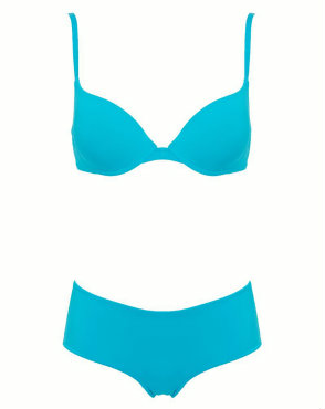 Wonderbra everyday T-shirt bra in turquoise